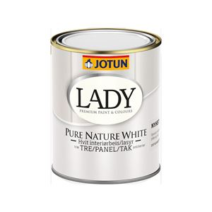 Lady Pure Nature White Interiørbeis 3L