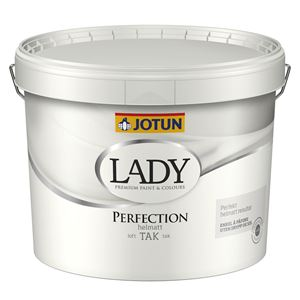 Lady Perfection takmaling 02 hvit 9 liter