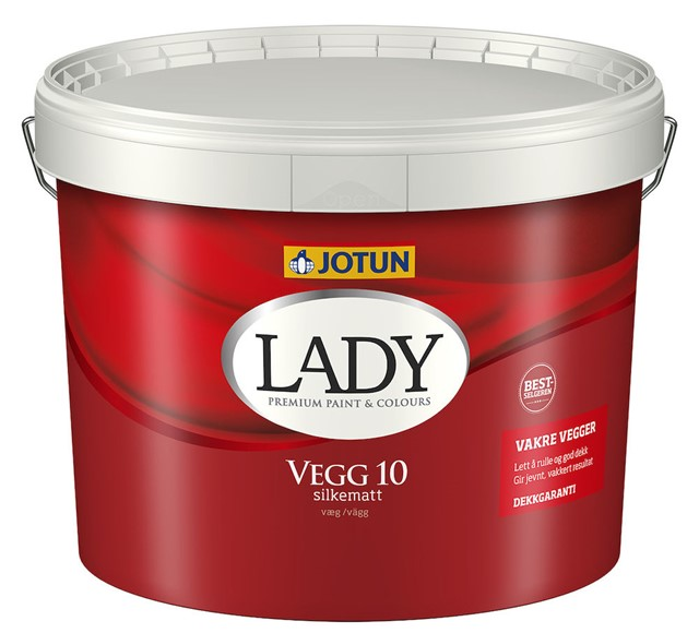 Lady Vegg 10 Hvit-base 9 liter