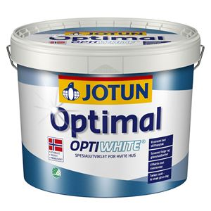 Optimal optiwhite hvit base 9 liter