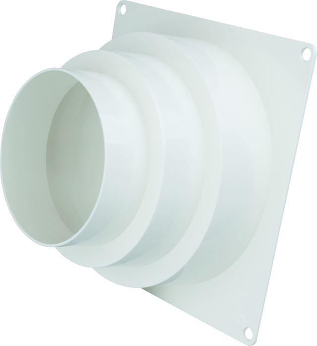 Flexit Overgangsstykke plast hvit 4-5-6 Overgangsstykke, Flexit 7001463