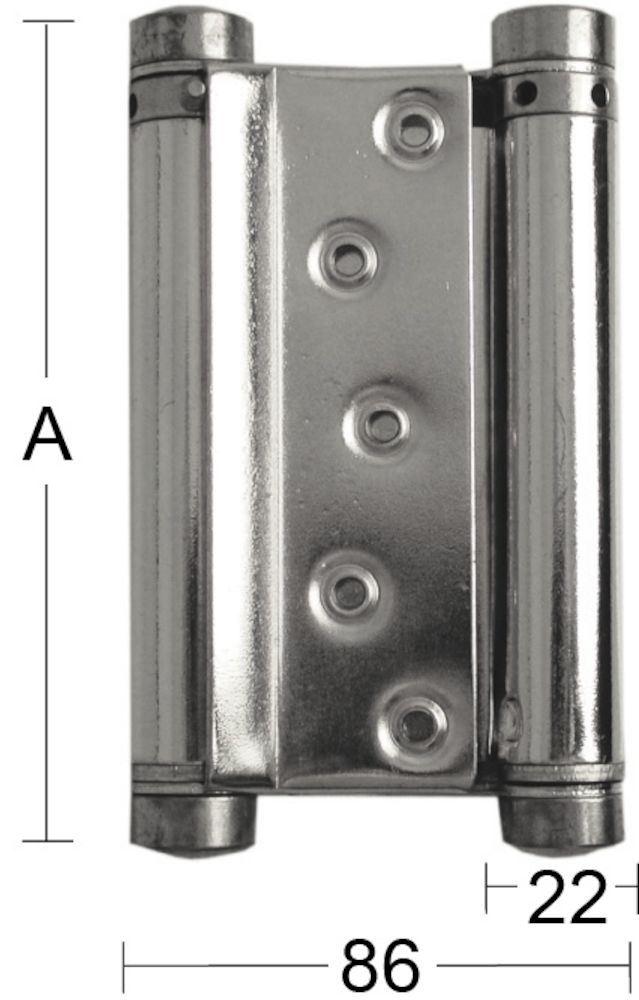 Hengsel svingdør 10 100 mm dobbel sb DT Habo hengsel svingdør 10 100 mm dobbel sb DT Habo Norge AS