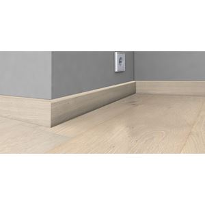 Gulvlist Blonde finert 16x60x2400 mm eik