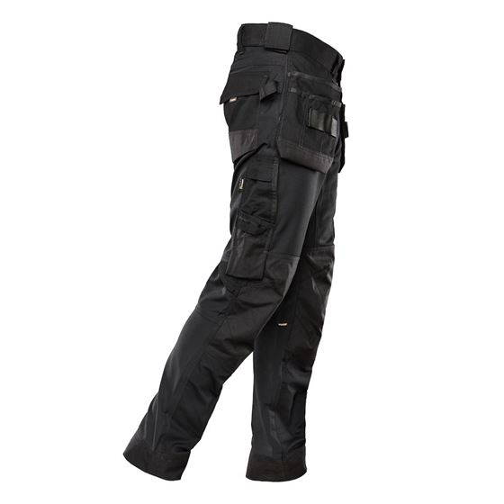 Timbra Performance arbeidsbukse str 50 sort stretch cordura