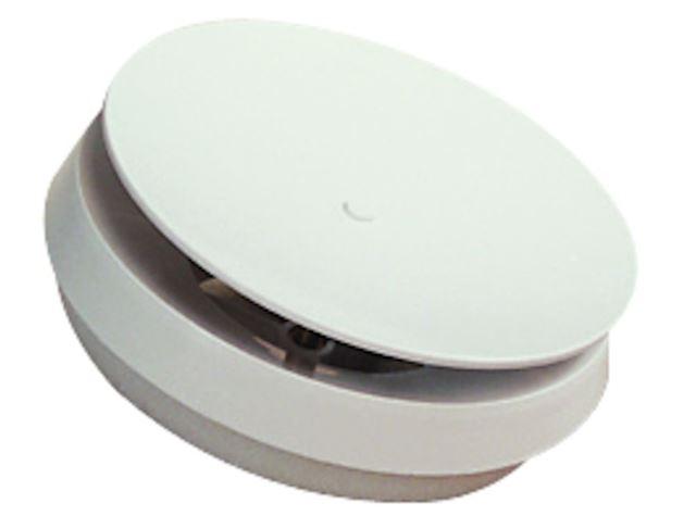 Flexit Tilluftsventil hvit plast Ø 100 mm Tilluftsventil, Flexit 7001710