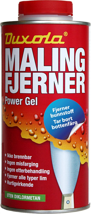Malingfjerner duxola power gel 750 ml