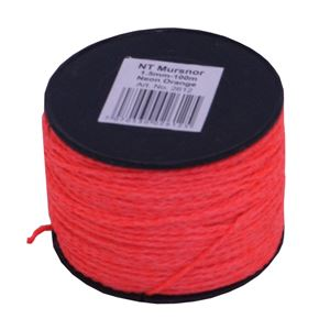 Snor for muring 1,5mm 100m neon orange