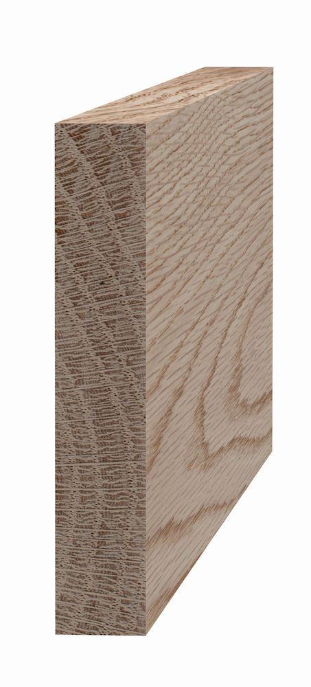 Glattkantlist 21x118 mm ubehandlet eik Glattkantlist 21x118 mm ubehandlet eik, SÖDRA S Wood AS