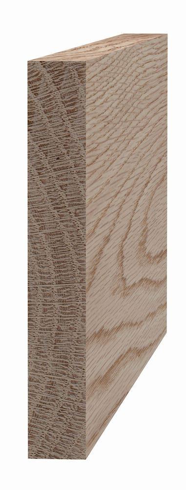 Glattkantlist 21x143 mm ubehandlet eik Glattkantlist ubehandlet eik, SÖDRA INTERIØR S Wood AS