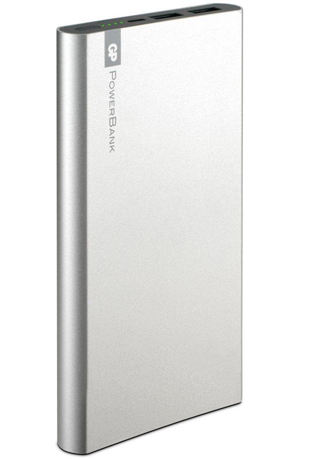 Powerbank/batteripakke Voyage 10 000 mAh FP10 sølv Powerbank/batteripakke Voyage 10 000 mAh FP10, GPBM NORDIC GPBM Nordic AS