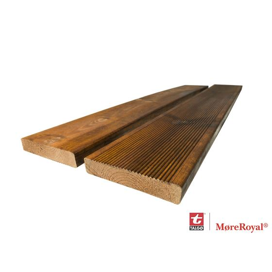 Terrassebord Royalimpregnert duo brun RB.10 28x145 mm furu