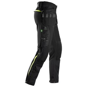Snickers arbeidsbukse 6940 HP sort str 56 softshell stretch