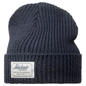 Lue Fisherman Beanie marineblå one size allroundwork Snickers