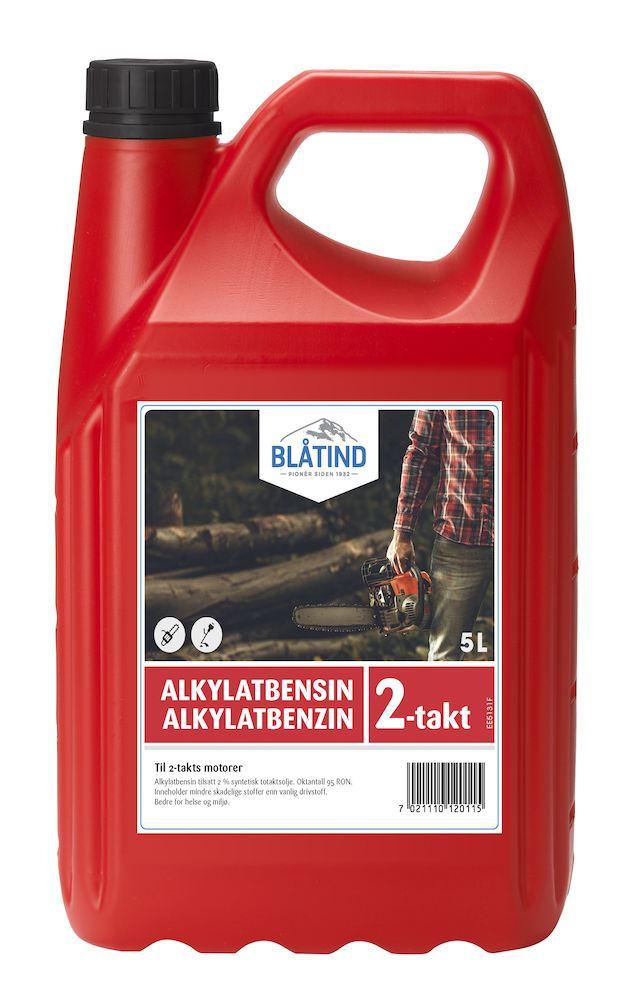 Blåtind alkylatbendin 2-takt 5 liter miljøbensin Blåtind alkylatbendin 2-takt, BLÅTIND Wilhelmsen Chemicals AS