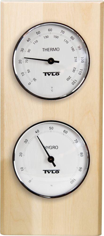 Hygrometer og termometer bjørk  Hygrometer og termometer bjørk, TYLØ AS Tylø AS