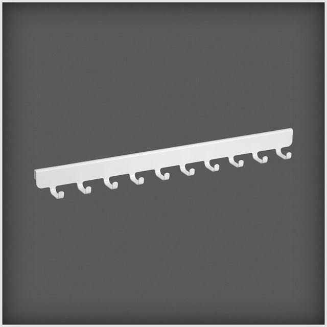 Krokrekke 10 hvit 40 cm KROKREKKE HVIT ELFA Norge AS