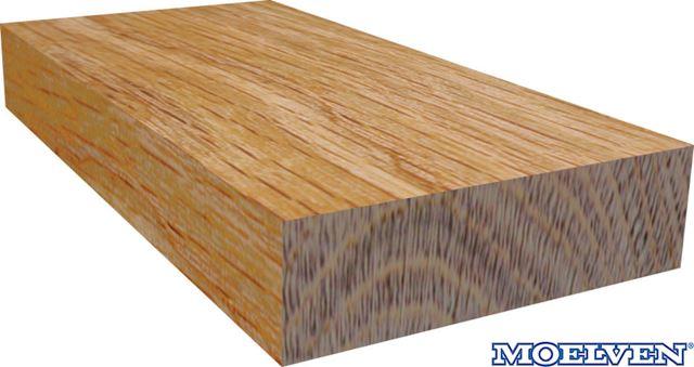 Glattkantlist 21x120 mm eik lakkert Glattkant Eik Lakkert 7083780