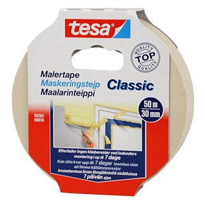 Maskeringstape 50 m x 30 mm