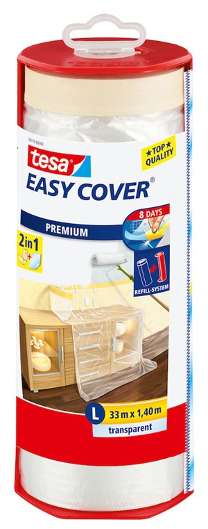 Dekkfolie 33m x 1440 mm Easy Cover