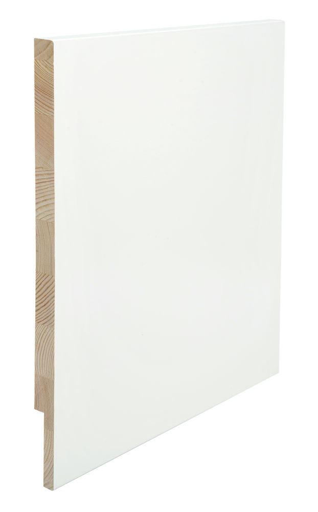 Utforing Opus 18x350x2400 mm hvitmalt furu Utforingsett laminert behandlet faste lengder 7285609