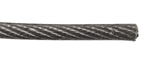 Wire 2/3mm 10 meter elforzinket/pvc