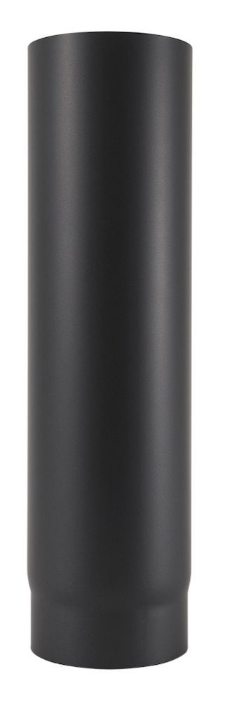 Røykrør ø 125x500 mm rett sort matt emalje 1,1 mm Røykrør, Jøtul Jøtul AS
