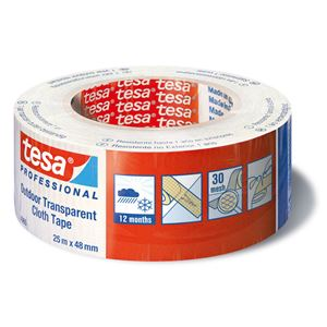 Lerretstape Professional transparent 25 m x 48 mm