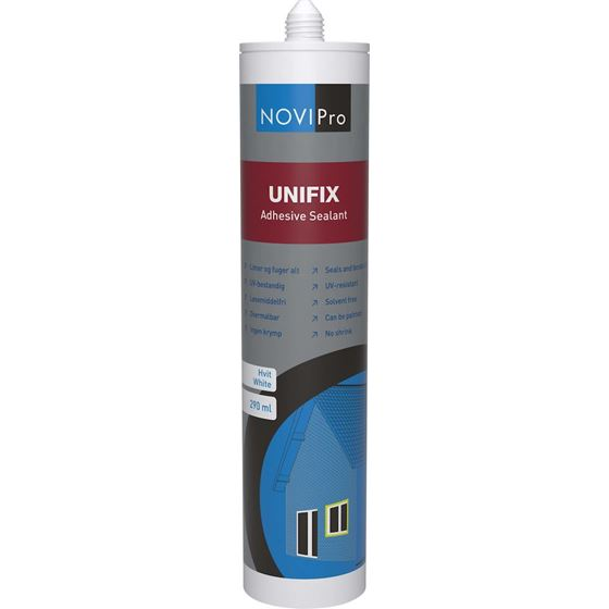 Novipro unifix sort 290ml lim