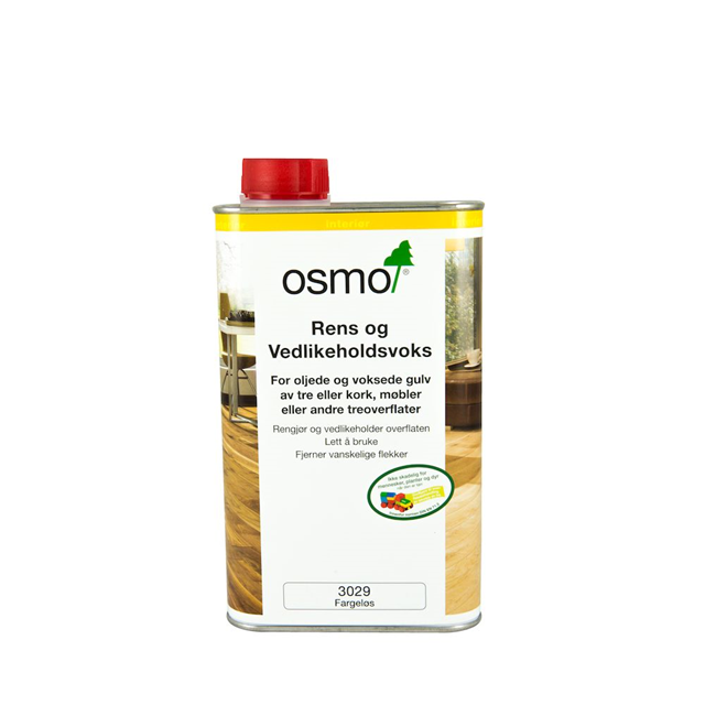 Rens og rengjøringsvoks 3029 1 liter klar Rens- og rengjøringsvoks Osmo Nordic AS